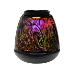Tiger's Eye Art Glass Scentsy Warmer