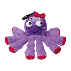 Bubbles the Octopus Scentsy Buddy Clip
