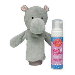 Halla the Hippo Scrubby Buddy + Bath Smoothie