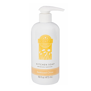 Scentsy Sunkissed Citrus Kitchen Soap