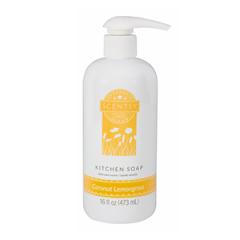 Scentsy Coconut Lemongrass Kitchen Soap