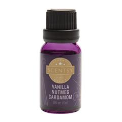 Scentsy Vanilla Nutmeg Cardamom Natural Oil