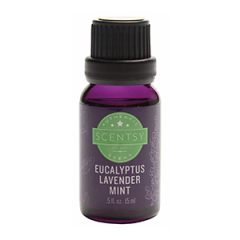 Scentsy Eucalyptus Lavender Mint Natural Oil