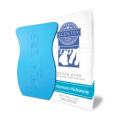Scentsy Honeymoon Hideaway Dryer Disks