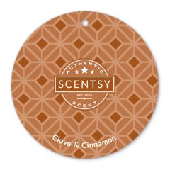 Clove & Cinnamon Scent Circle