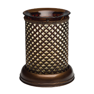 Brown Diamond Shade Scentsy Warmer