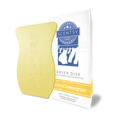 Scentsy Coconut Lemongrass Dryer Disk