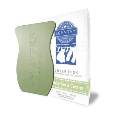 White Tea & Cactus Dryer Disks