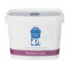 Layers Black Raspberry Vanilla Washer Whiffs Tub