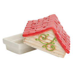Birdhouse – DISH AND LID