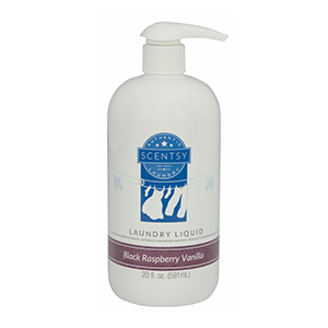 Scentsy Black Raspberry Vanilla Laundry Liquid