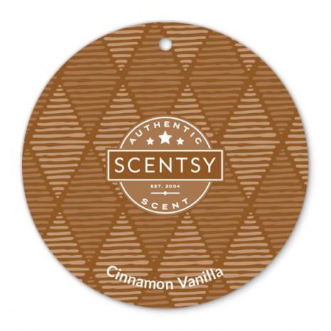 Cinnamon Vanilla Scent Circle