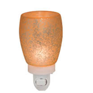 Scentsy Cream Glass Nightlight Warmer