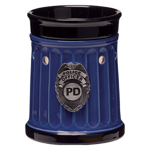 Scentsy Police Officer Warmer