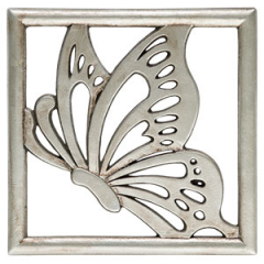 Monarch Gallery Frame – Silver (Frame Only)