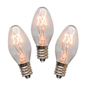 3 Pack Scentsy 15 Watt Light Bulbs