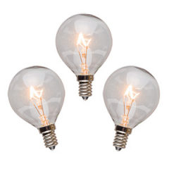 3 Pack Scentsy 20 Watt Light Bulbs