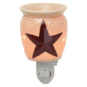 Rustic Star Nightlight Scentsy Warmer