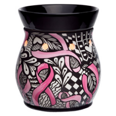 Breast Cancer Scentsy Warmer – Ribbons of Hope