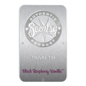 Black Raspberry Vanilla Travel Tin