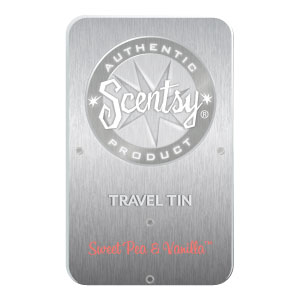 Sweet Pea & Vanilla Travel Tin