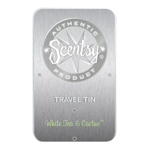 White Tea & Cactus Travel Tin