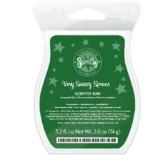 Very Snowy Spruce Scentsy Bar