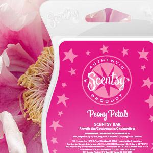 Peony Petals Scentsy Bar