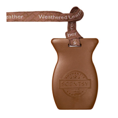 Weathered Leather Scentsy Car Bar