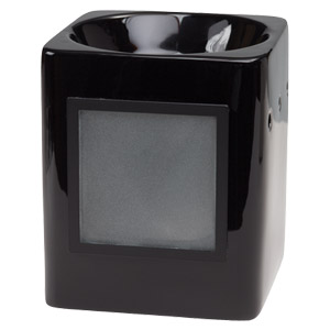 Sleek Black Scentsy Custom Gifts Warmer