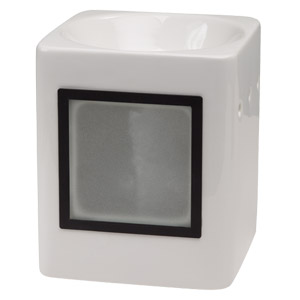 Sleek White Scentsy Custom Gifts Warmer