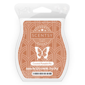 Coconut Pumpkin Pie Scentsy Bar