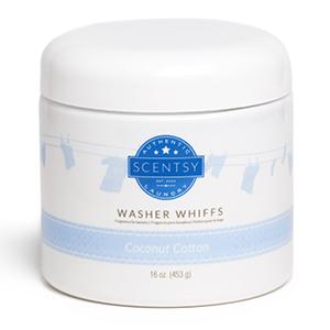 Coconut Cotton Washer Whiffs