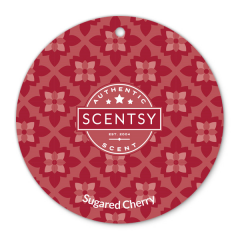 Sugared Cherry Scent Circle