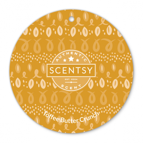 Toffee Butter Crunch Scent Circle