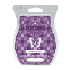 Sweet Plum Pastry Scentsy Bar