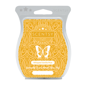 Whipped Vanilla Pear Scentsy Bar