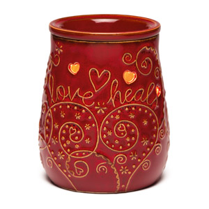 Love Heals Scentsy Warmer