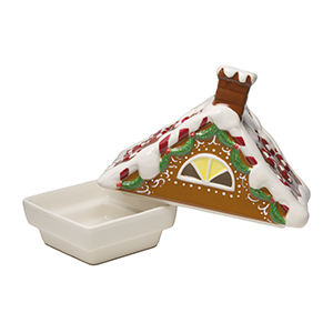 Gingerbread House - DISH ONLY (Includes two separate pieces)