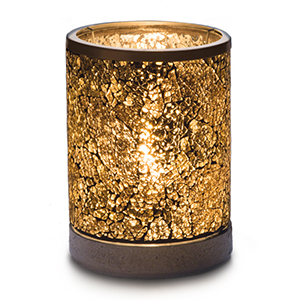 Gold Crush Lampshade Scentsy Warmer