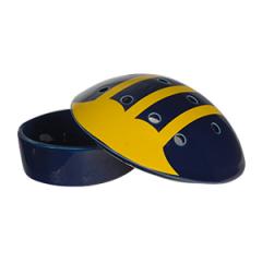 University of Michigan Football Helmet - DISH ONLY