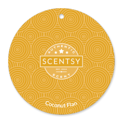 Coconut Flan Scent Circle