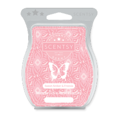 Sweet Amber & Freesia Scentsy Bar