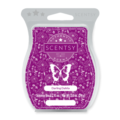 Darling Dahlia Scentsy Bar