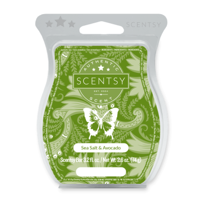 Sea Salt & Avocado Scentsy Bars