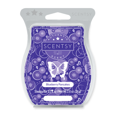 Blueberry Pancakes Scentsy Bar