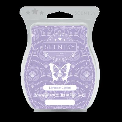 Lavender Cotton Scentsy Bar