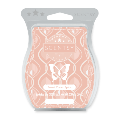 Sweet Cream Spice Scentsy Bar
