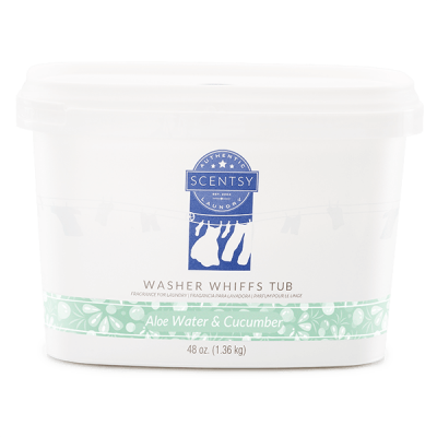 Aloe Water & Cucumber Washer Whiffs Tub