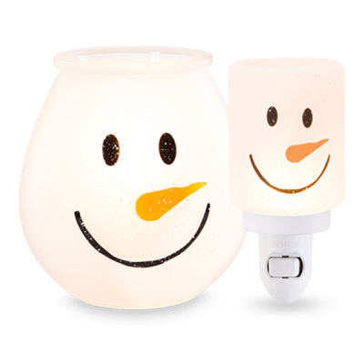 Frosty Glow Scentsy Warmer Bundle